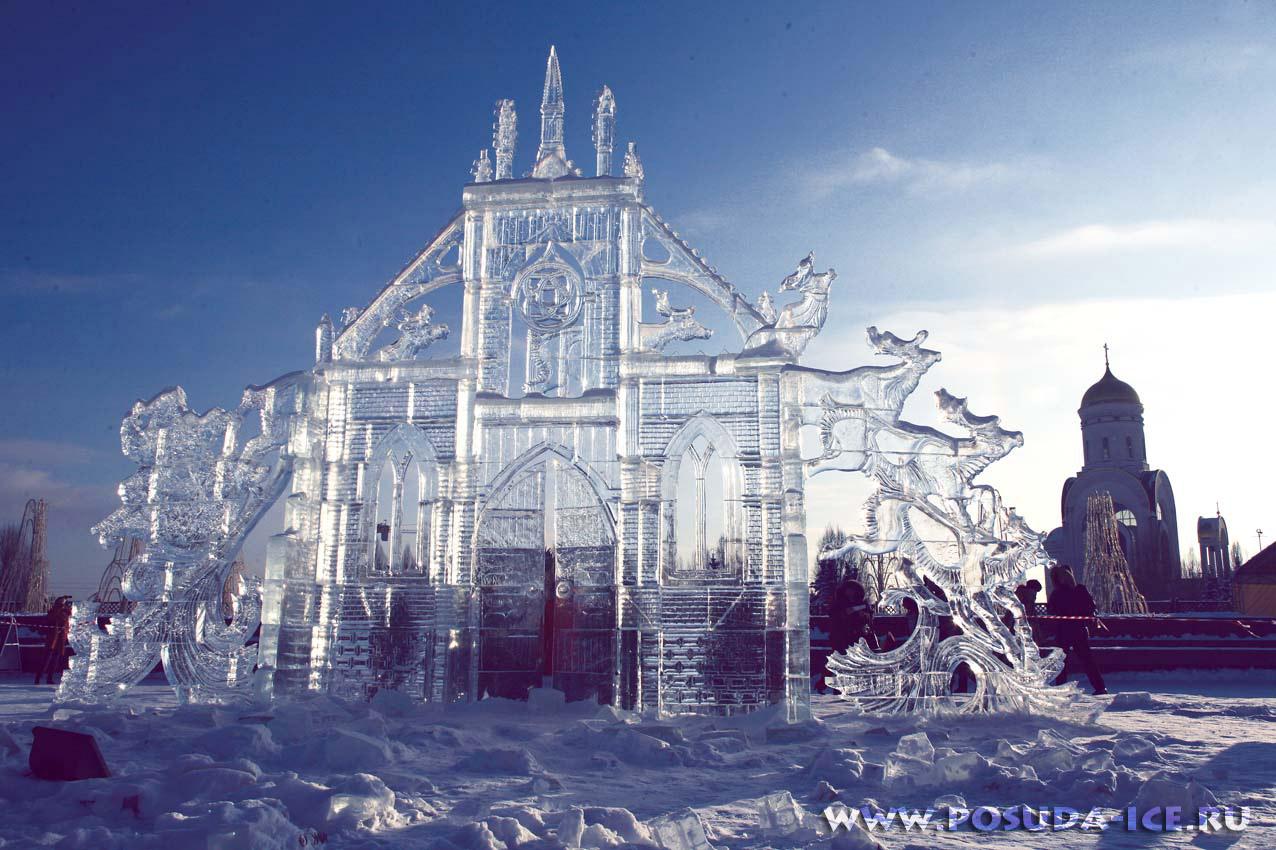 Фигуры льда